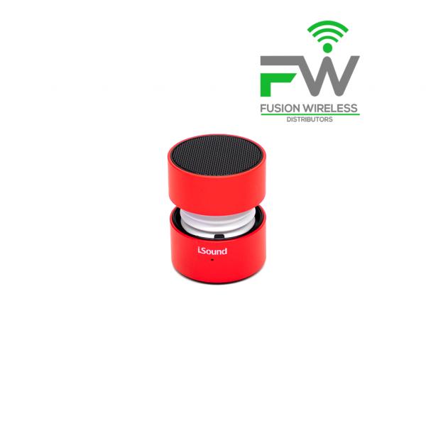 ISound Fire Glow Speaker Red