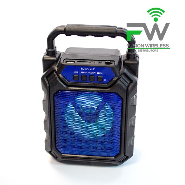 IQ SOUND IQ-1574BT BLU Portable Blue
