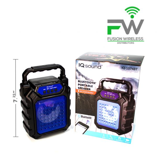 IQ SOUND IQ-1574BT BLU Portable Blue 1