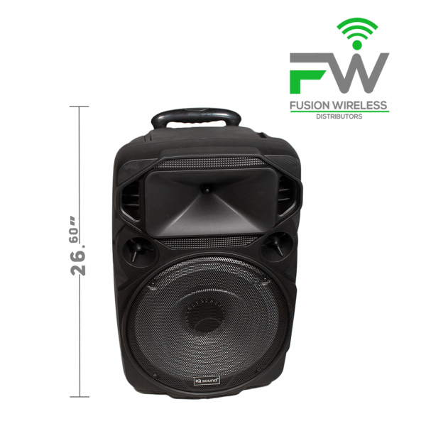 IQ SOUND IQ-1515DJTWS Dual 15